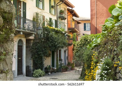 Bellagio, CO Italy, April 25, 2016 Pescallo is Bellagio's fraction. It is a ancient little hamlet, with little streets where you can only walk. It is in Italy, on Como lake
