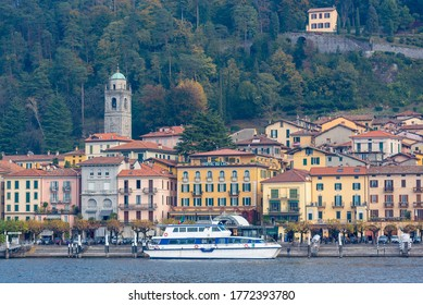 Bellagio (CO) / Italy - October 28, 2017: Bellagio on the shore of Lake Como, Italy.