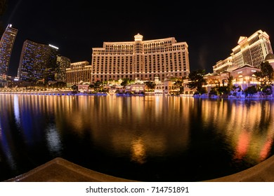 The Bellagio Hoten in Las Vegas, Nevada, USA. April 13, 2016.