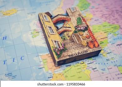 Bellagio map background