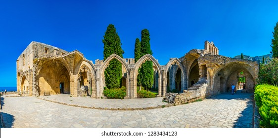 Bellapais abbey at Beylerbeyi village in Northern Cyprus