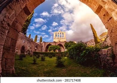 Bellapais Abbey. Kyrenia, Cyprus.