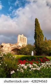 Bellapais Medieval Abbey, Kyrenia District, Cyprus