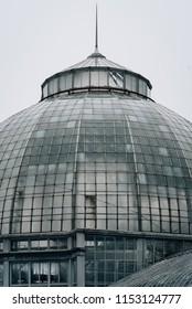 The Belle Isle Conservatory, in Detroit, Michigan