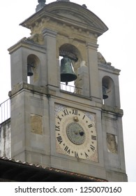 Belll Tower and Clock in Piazza Grande, Arezzo