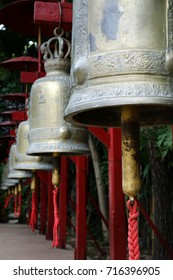 bells in buddhist temple,Chiang mai,Thailand