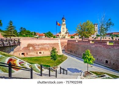 Belltower of The Archiepiscopal Cathedral, Alba Iulia,Alba-Romania