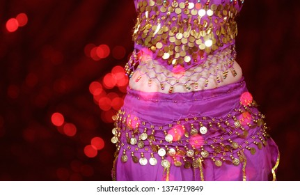 Belly Dancer Close-up