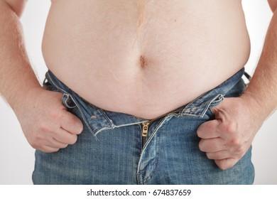 Belly Fat of boy