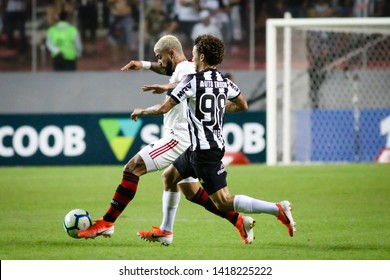Belo Horizonte - Minas Gerais, Brazil May 18, 2019 The player Gabriel Batista (Gabi Gol) during the match between Atletico MG and Flamengo at Arena Independência is valid for the Brazilian championsh