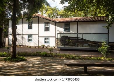 Belo Horizonte/Minas Gerais/Brazil- ABR 18 2019: Partial View of the Abílio Barreto Historical Museum