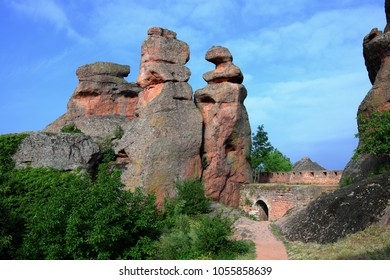 Belogradchik Rocks and ancient Kaleto Fortress, Bulgaria
