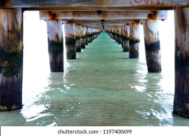 Below Rye Pier