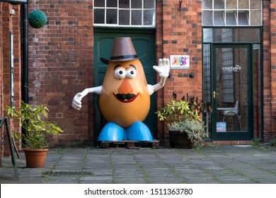 Belper, Derbyshire, UK 09/20/2019 Cartoon toy character figure