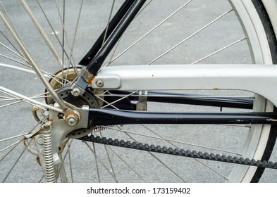 Belt drive system Vintage bicycles