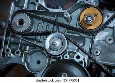 Belt in a motor vehicle
