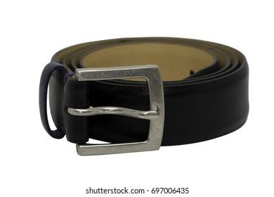 Belt on white background.