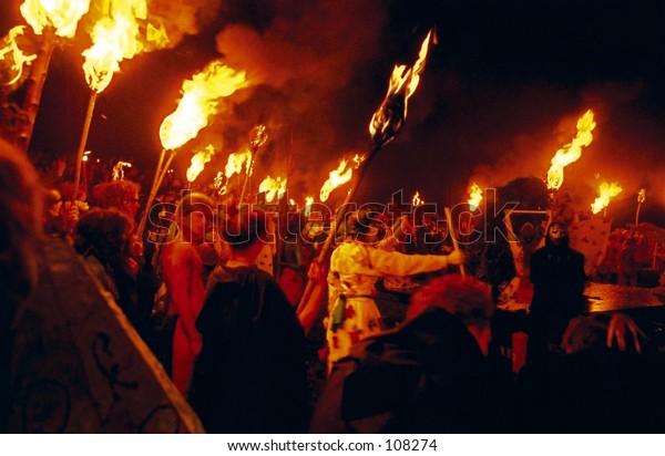 Beltane Fire Festival- Edinburgh Scotland