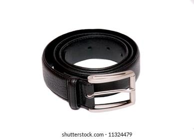 belts on white