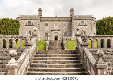 Belvedere Estate, County Westmeath, Ireland - April 17th, 2017: Belvedere House, Victorian Hunting Manor Lodge.