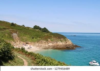Belvoir bay, Herm. British Channel Islands.