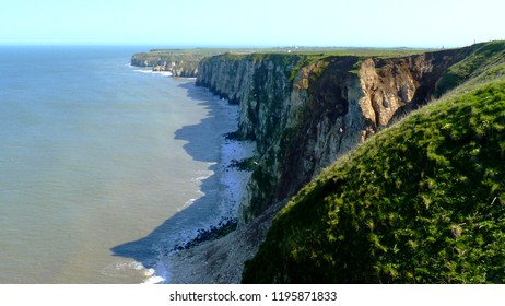 Bempton Cliffs towards Thornwick Bay, Yorkshire Coast