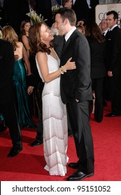 BEN AFFLECK & JENNIFER GARNER at the 64th Annual Golden Globe Awards at the Beverly Hilton Hotel. January 15, 2007 Beverly Hills, CA Picture: Paul Smith / Featureflash