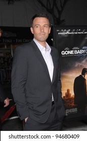 """Ben Affleck at the Los Angeles premiere of his new movie """"Gone Baby Gone"""" which marks his directorial debut. October 9, 2007  Los Angeles, CA Picture: Paul Smith / Featureflash"""