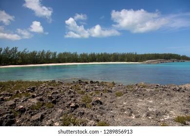 Ben Bay Beach, North Eleuthera Island, Bahamas.