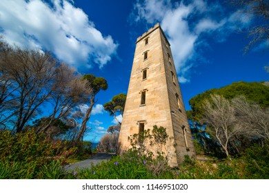 Ben Boyd Tower, built to spot whales as they passed in the bay on the far south coast town of Eden, the venture turned in to a total flop for the man responsible for starting Boyd town in  Australia.