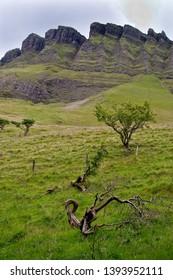 Ben Bulben rock formation in County Sligo