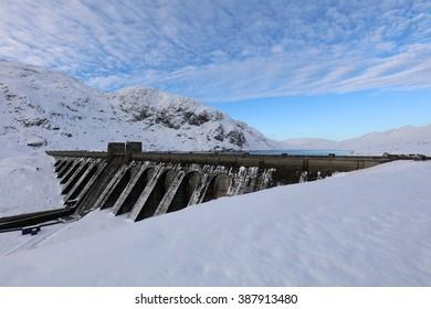 Ben Lawers Dam, Scotland Munro