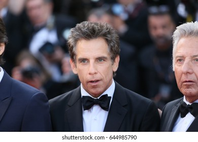 Ben Stiller attends the 'The Meyerowitz Stories' screening during the 70th annual Cannes Film Festival at Palais des Festivals on May 21, 2017 in Cannes, France.