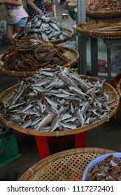 Ben Tre market in Ben Tre province - south west of Vietnam. This is the biggest and main martket in Ben Tre City. People can buy fresh food, fruit or salted fish, which is very famous in the area.