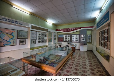 Ben Tre, Vietnam, March 22, 2019: Ben Tre Museum (Bảo tàng Bến Tre)