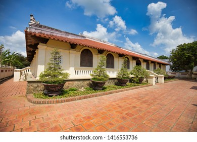 Ben Tre, Vietnam - March 22, 2019: Ben Tre Ancient House (Nhà cổ Hương Liêm)