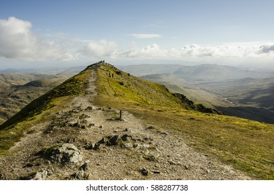 Ben Vorlich summit ridge, Scotland