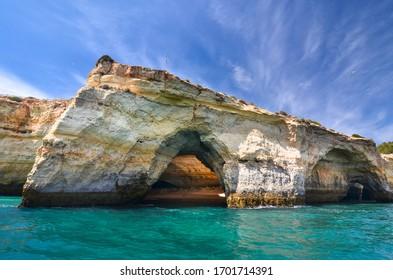 Benagil, sea cave on the Algarve coast