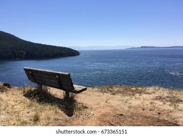 Bench at the edge of the world
