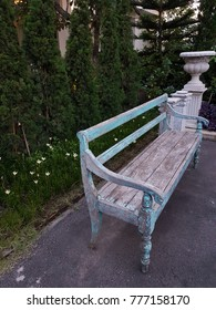 bench in home