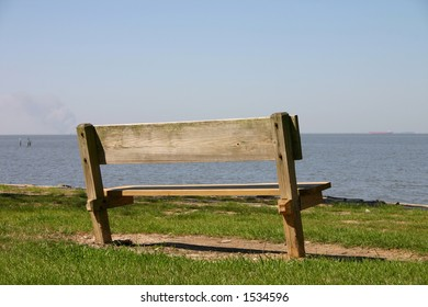 Bench overlooking the Bay