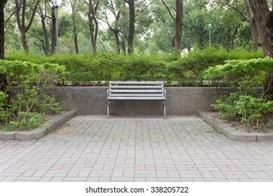 bench at a park