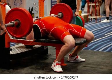bench press competition powerlifting powerlifter to perform attempt