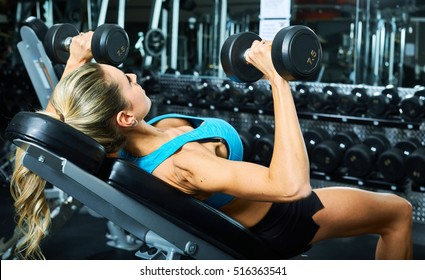 Bench press dumbbell workout