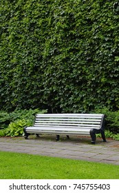 bench to relax in the Park