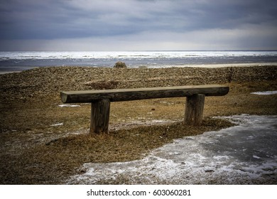 Bench, sea, loneliness