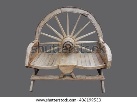 Peachy Bench Seating Form Wheel Stock Photo Edit Now 406199533 Machost Co Dining Chair Design Ideas Machostcouk