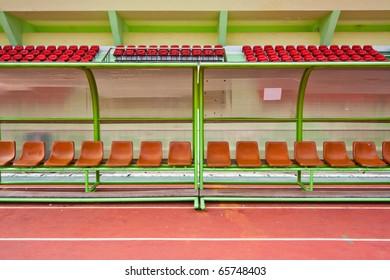 Bench and Stadium