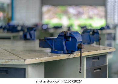 Bench Vise Clamp steel Fitters Vice it is learning