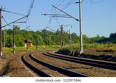 Bending of the electrified railway